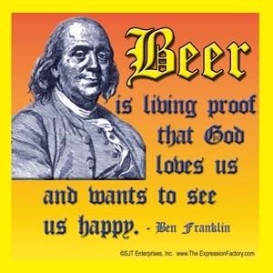 Beer Benjamin Franklin