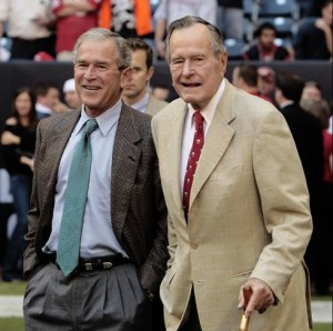 Both Bush Presidents