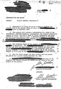 CIA Project MK Ultra