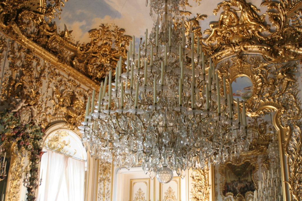 Chandelier at Linderhof Castle