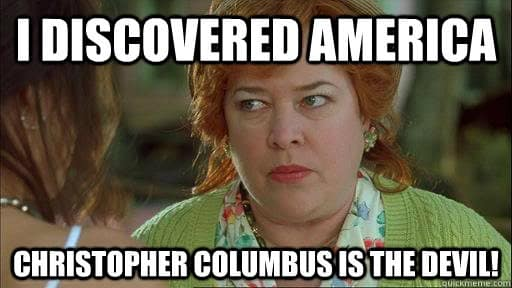 Christopher Columbus History Meme