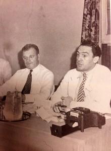 Clark Foreman, 1944 (Right)