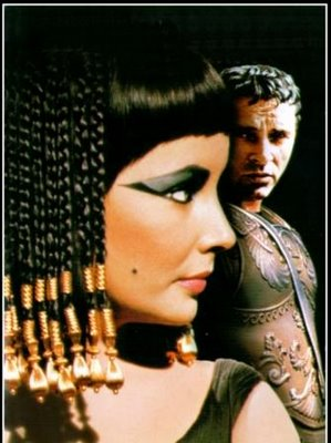 Cleopatra and Julius Caesar