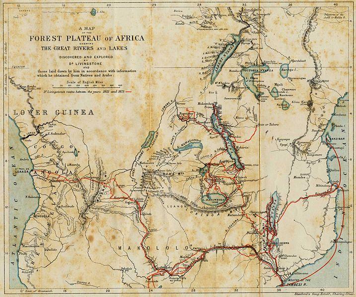 David-Livingstone-Travels-Map