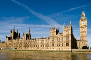English Parliament and Big Ben