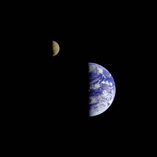 earth and moon together - photo #15
