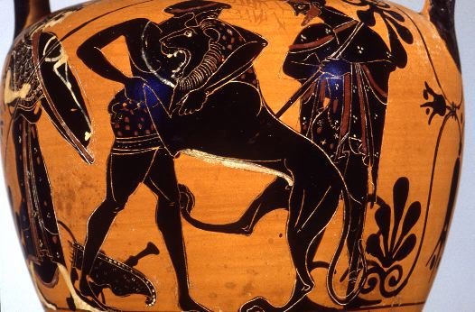 Heracles Slays the Nemean Lion