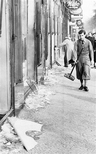 Kristallnacht-Damage