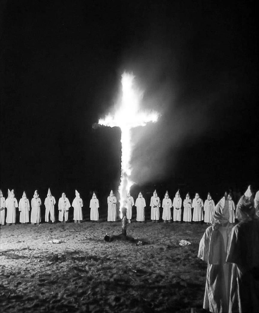 history on the klu klux klan This piece has been updated when he was asked on cnn's state of the union on sunday whether he would condemn the praise of former ku klux klan grand wizard david duke, donald trump declined to .