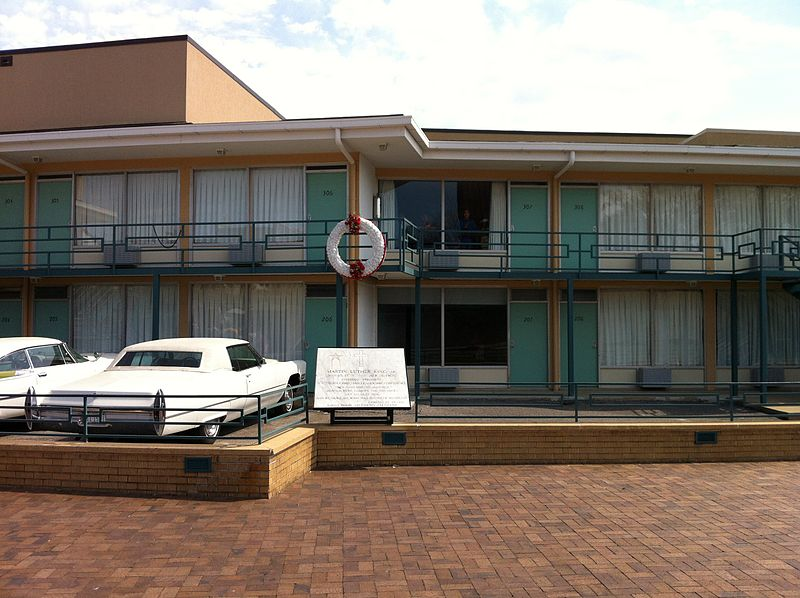 Lorraine Motel Martin Luther King Assassination