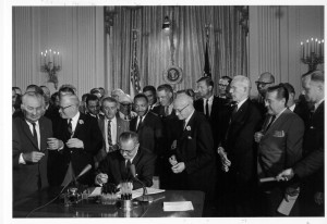 President Johnson Civil Rights Act of 1968