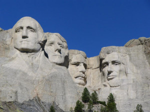Mount Rushmore- Heroification in History