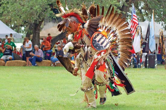 Native Americans Dancing
