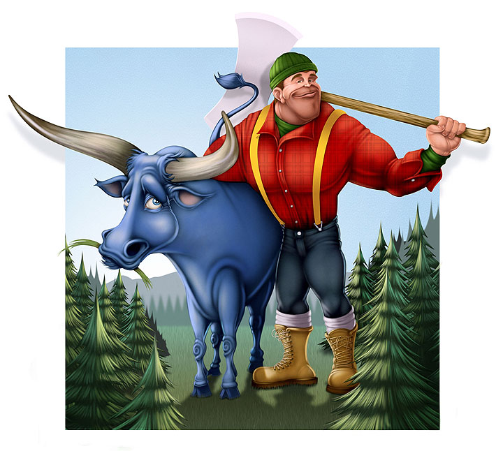 an introduction to the life of paul bunyan Paul bunyan (folk heroes) [sandra becker] on amazoncom free shipping on qualifying offers an introduction to the life and accomplishments of the fictional folk.