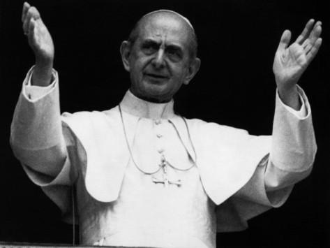 Pope Paul VI 1970s