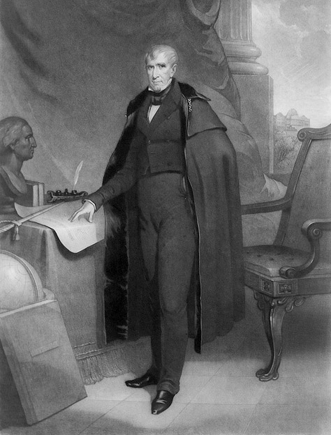 a biography of william henry harrison an american president National first ladies' library's biography for anna harrison  of william henry and anna harrison are difficult to make mrs harrison apparently accepted the .