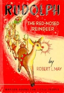 Rudolph, The Red-Nosed Reindeer, by Robert May