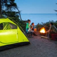 History of Camping in the Great Outdoors