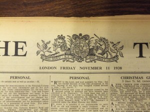 The Times 1938