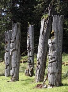 Totem Poles of Haida