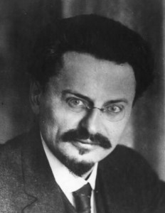 Trotsky -- History from the Web ─ Mustaches