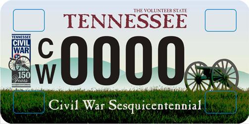 civil-war-license-plate