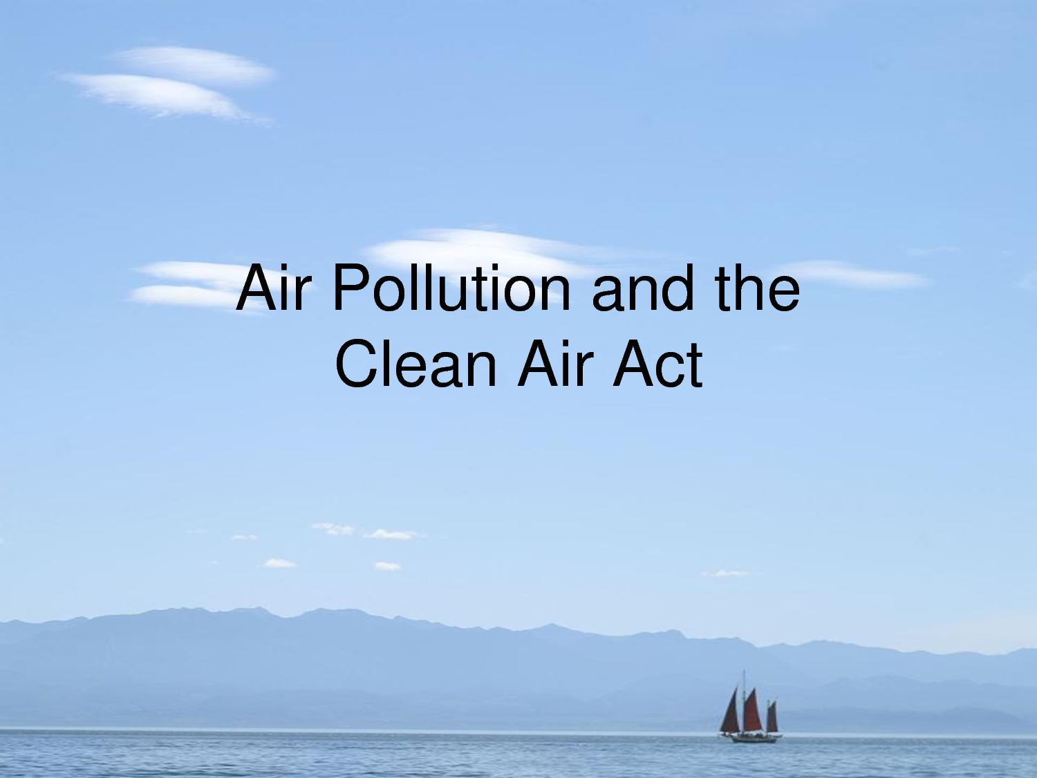 air act As required by title v of the clean air act amendments of 1990, and the implementing regulations in 40 cfr, part 70, wyoming established an operating permit program under chapter 6, section 3 of the wyoming air quality standards and regulations (waqsr.