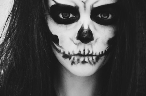 face painting scary hankering for history. Black Bedroom Furniture Sets. Home Design Ideas