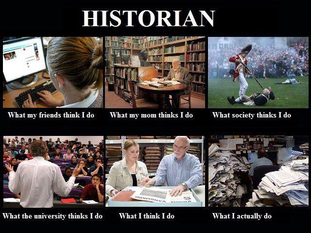 Historian meme hankering for history