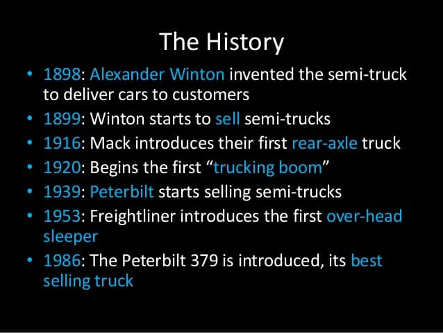 history-of-18-wheeler