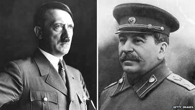 1984 hitler and stalin relationship