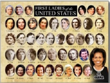 Most Influential First Ladies In History Hankering For History