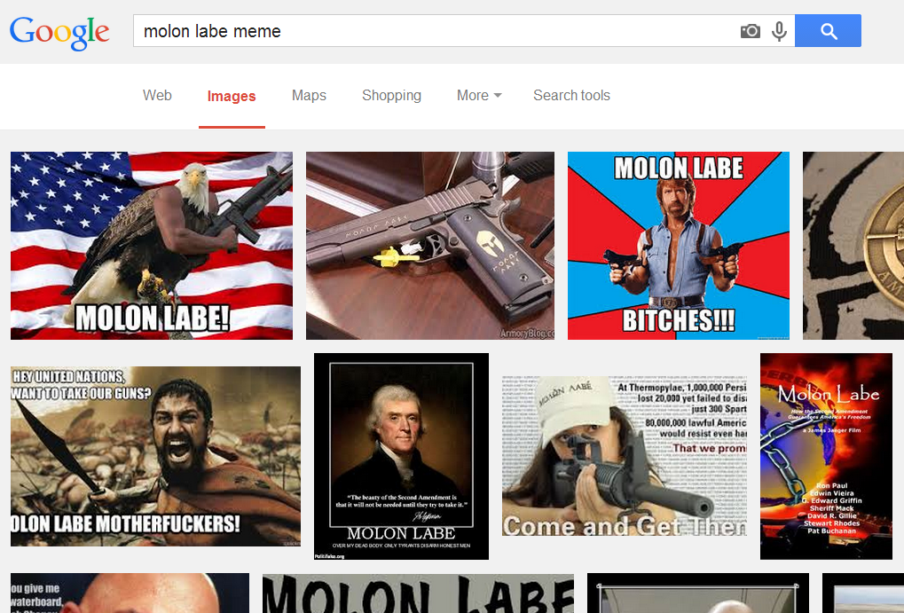 Molon Labe What Does It Meme Hankering For History