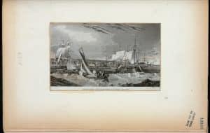 Ships in quarantine, Staten Island