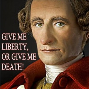 antithesis in patrick henry speech