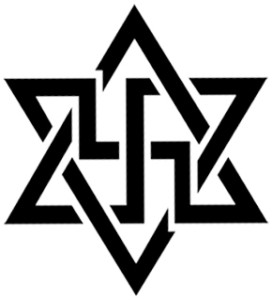 Swastika -- Star of David