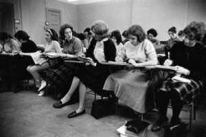 women in college